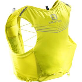 Salomon Adv Skin 5 Backpack Set Herr sulphur spring/citronelle